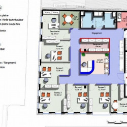 Location Bureau Lyon 3ème 200 m²