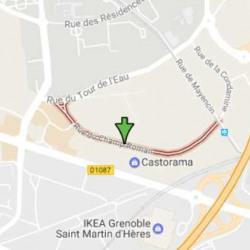 Location Local commercial Saint-Martin-d'Hères 640 m²
