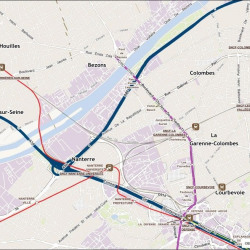 Location Local d'activités Nanterre 1220 m²