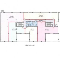 Location Bureau Tours 597 m²