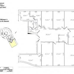 Location Bureau Bègles 236 m²