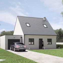 Maison  4 pièces + Terrain  727 m² Ardon