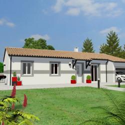 Maison  4 pièces + Terrain  1000 m² Montauban