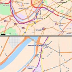 Location Bureau Issy-les-Moulineaux 1201 m²