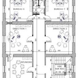 Location Bureau Aubervilliers 339 m²
