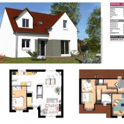 Terrain  de 406 m²  Domont  (95330)