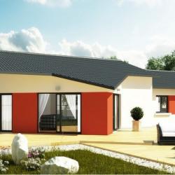 Maison  6 pièces + Terrain  900 m² Abergement Clemenciat