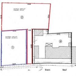 Vente Terrain Cravant 531 m²