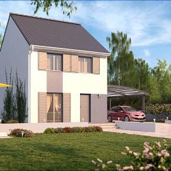 Maison  5 pièces + Terrain  374 m² Saint-Michel-Chef-Chef