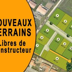 Terrain  de 450 m²  Dompierre sur Yon  (85170)