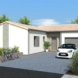 Maison  5 pièces + Terrain  533 m² La Crèche