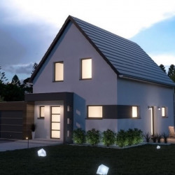Maison  5 pièces + Terrain  500 m² Muntzenheim