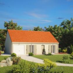 Maison  3 pièces + Terrain  638 m² Jouy-le-Potier