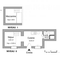 Location Local commercial Houilles 16,91 m²