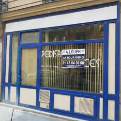 Location Local commercial Paris 17ème 63 m²