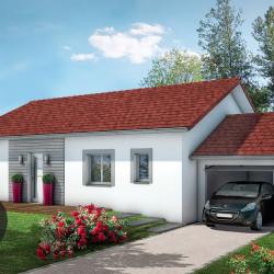 Maison  4 pièces + Terrain  598 m² Laveyron