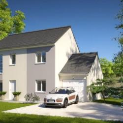 Maison  2 pièces + Terrain  609 m² Margny-Lès-Compiègne