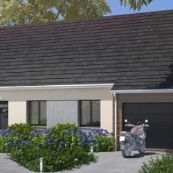 Maison  4 pièces + Terrain  480 m² Albert