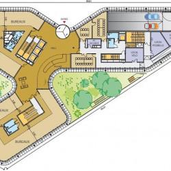 Location Bureau Massy 7404 m²