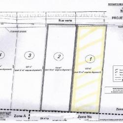 Vente Terrain Marquion 925 m²