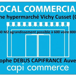 Location Local commercial Vichy 280 m²