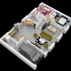 Maison  6 pièces + Terrain  577 m² Voves