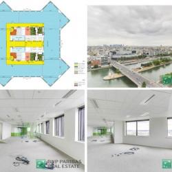 Location Bureau Paris 15ème 993 m²