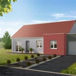Maison  4 pièces + Terrain  610 m² Roppe (90380)