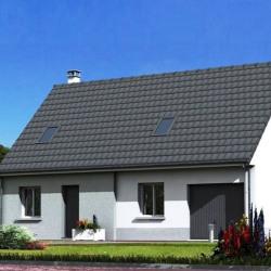 Maison  6 pièces + Terrain  1194 m² Airon-Notre-Dame