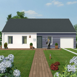 Maison  4 pièces + Terrain  830 m² Aubiac
