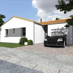 Maison  4 pièces + Terrain  908 m² Viennay