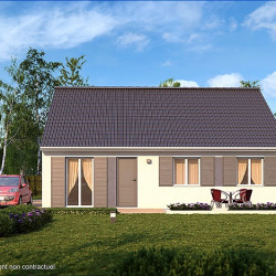 Maison  4 pièces + Terrain  537 m² Herbignac