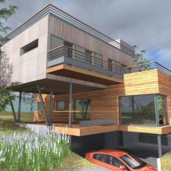 Modèle de maison  à partir de 5 pièces