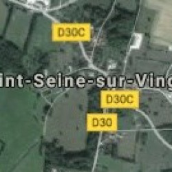 Terrain  de 720 m²  Saint-Seine-sur-Vingeanne  (21610)