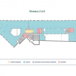 Location Bureau Paris 9ème 12465 m²