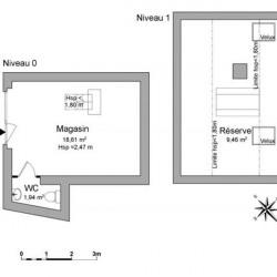 Location Local commercial Évreux 30,01 m²