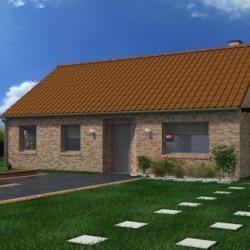 Maison  6 pièces + Terrain  1184 m² Houdain-Lez-Bavay