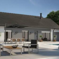 Maison  4 pièces + Terrain  1070 m² Saint-Julien-sur-Dheune