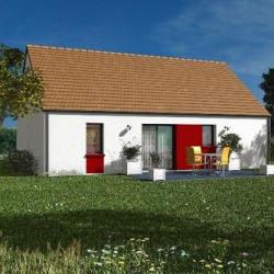 Maison  3 pièces + Terrain  700 m² Santenay