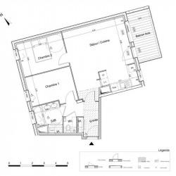 Appartement (T3) - 64.99