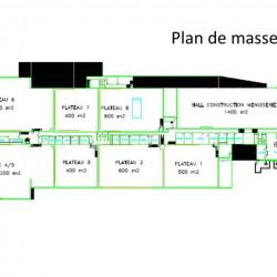 Location Local d'activités Saint-Germain-lès-Arpajon 3000 m²