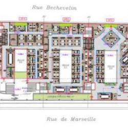 Location Bureau Lyon 7ème 3308 m²
