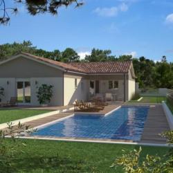 Maison  4 pièces + Terrain  268 m² Lussac