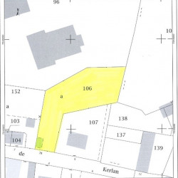 Vente Terrain Rostrenen 1075 m²