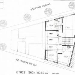 Location Bureau Montpellier 365 m²