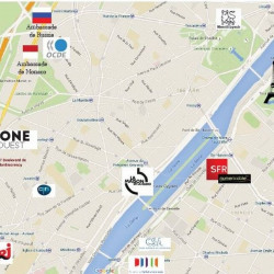 Location Bureau Paris 16ème 13826 m²