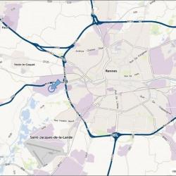 Location Local d'activités Rennes 1340 m²