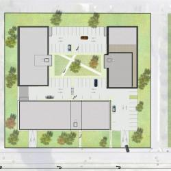 Location Bureau Mérignac 4176 m²