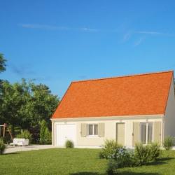 Maison  2 pièces + Terrain  501 m² Jouy-le-Potier