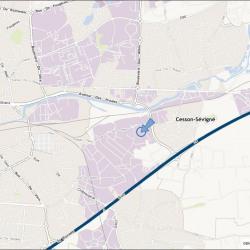 Location Local d'activités Cesson-Sévigné 1850 m²